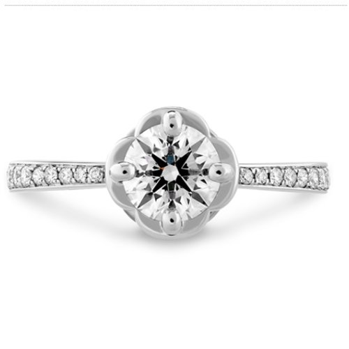 Hearts On Fire Desire Simply Diamond Engagement Ring