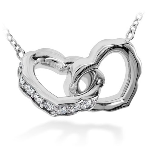 Hearts on Fire Fashion Lorelei Heart Necklace