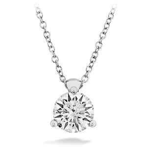 Hearts on Fire Fashion Classic 3-Prong Solitaire Pendant