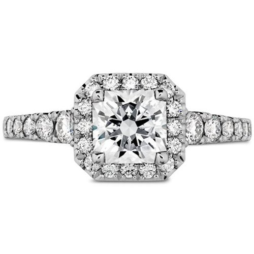 Hearts On Fire Transcend Premier Dream Halo Engagement Ring