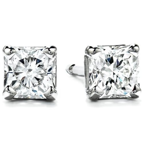 Hearts on Fire Fashion 0.60ct Four Prong Dream Stud Earrings