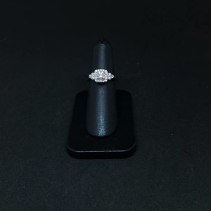 Amour 14k White Gold 0.72ct Engagement Ring
