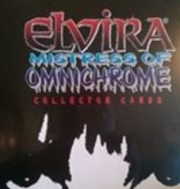 Elvira Vintage Mistress of Omnichrome Trading Card Pack