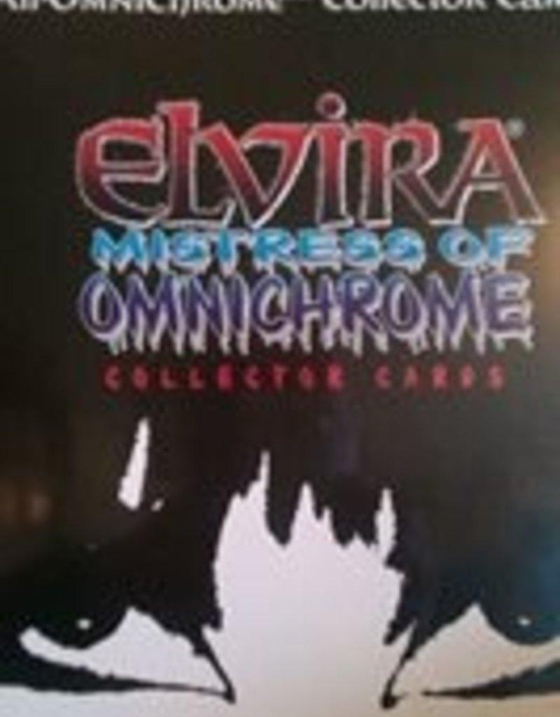 Elvira Elvira Vintage Mistress of Omnichrome Trading Card Pack