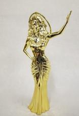RuPaul Ornament - Gold