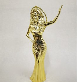 RuPaul Ornament - Gold