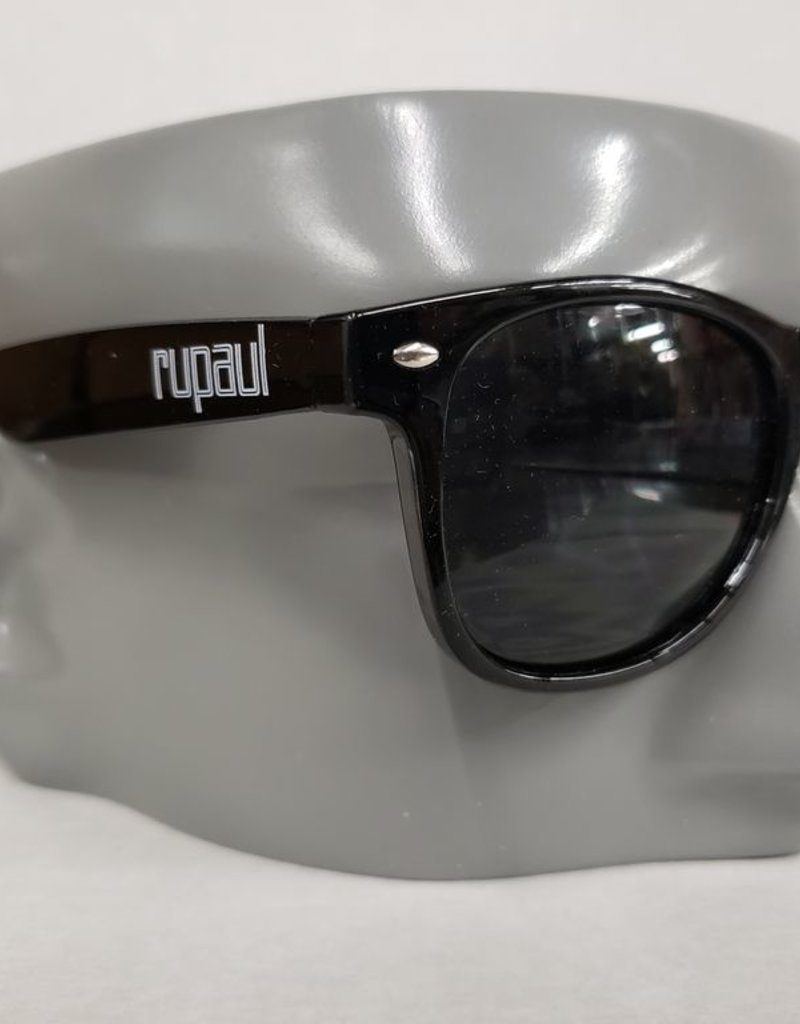 RuPaul Sunglasses -Black w/ White logo