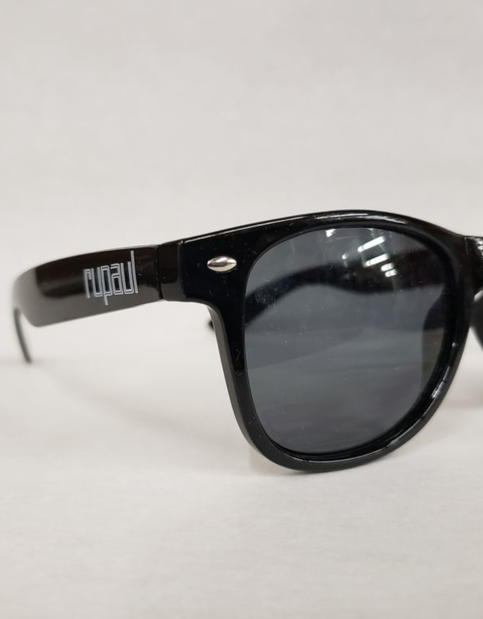RuPaul Sunglasses -Black w/ White logo