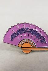 RuPaul Enamel Pin - Sashay Shante Fan