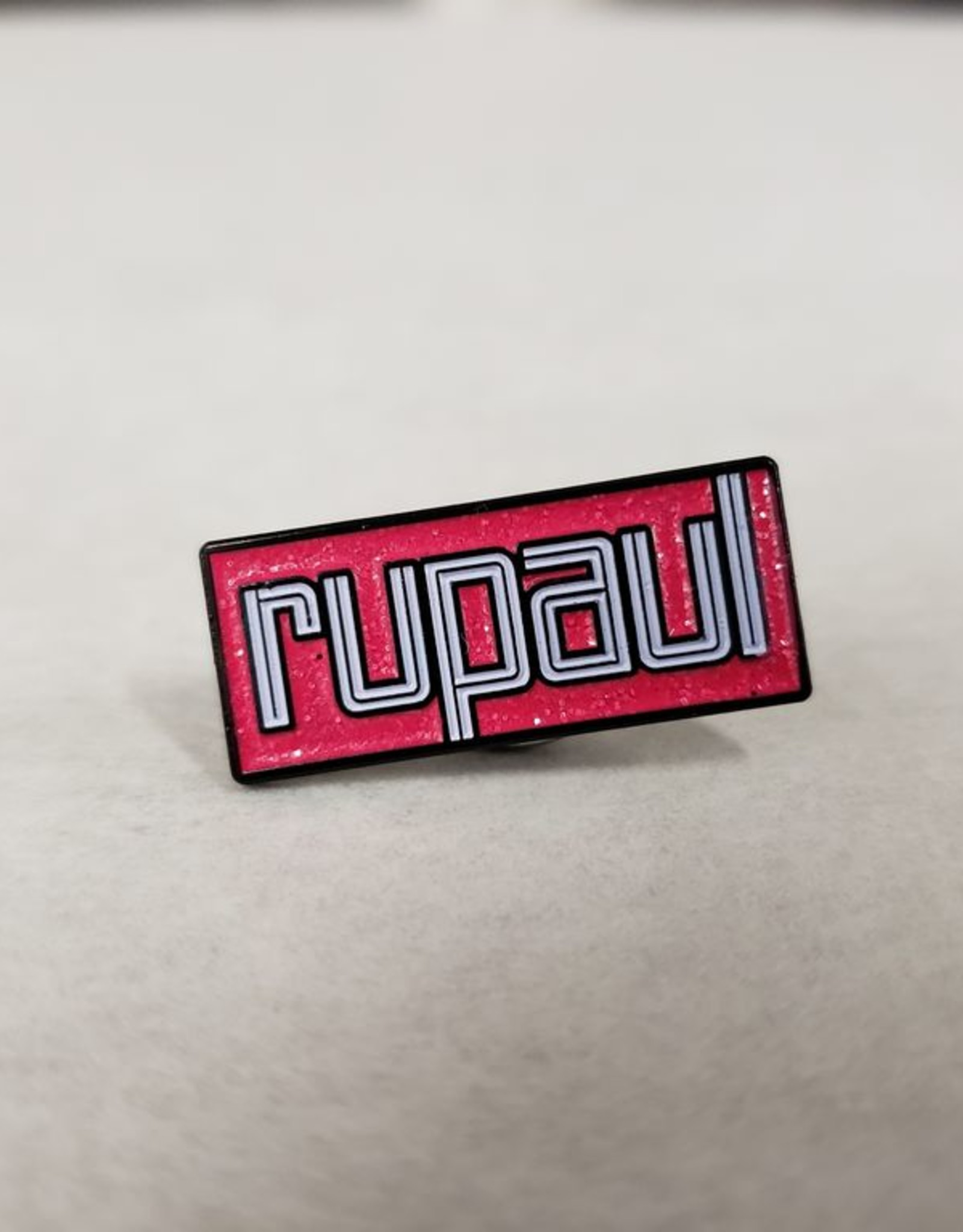 RuPaul Enamel Pin - RuPaul Logo