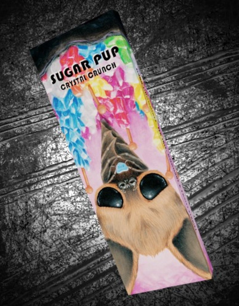 """Sugar Pup Crystal Crunch"" bar by Sugar Fueled"