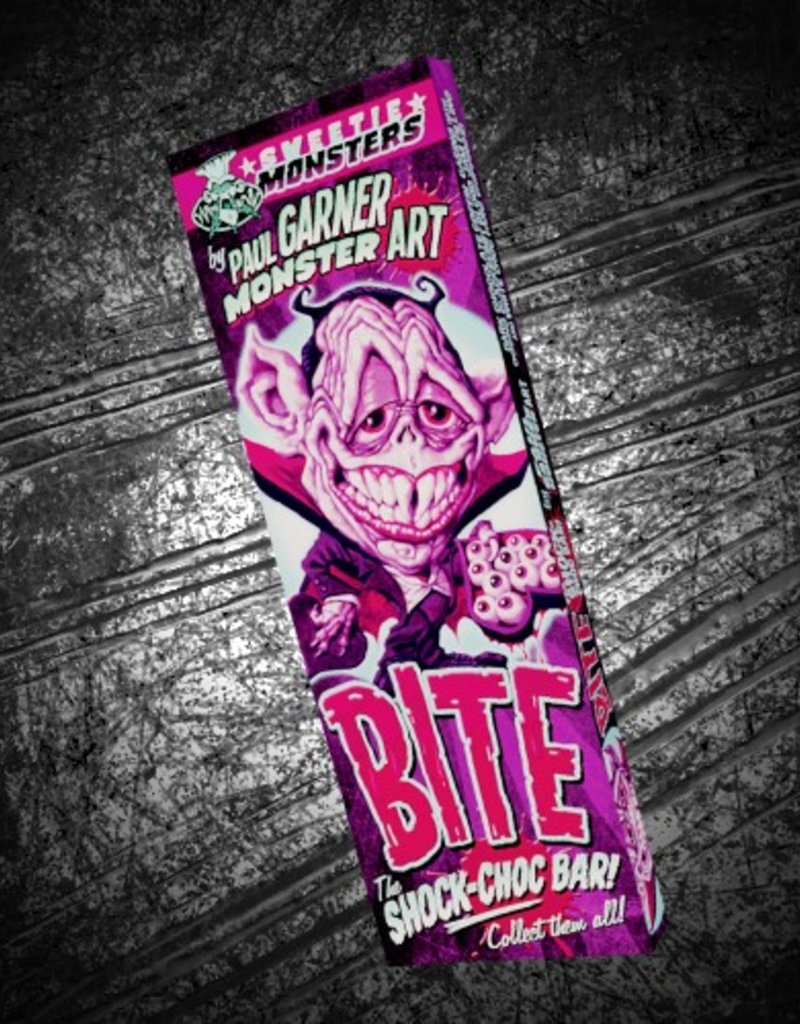 """Bite The Shock-Choc Bar!"" bar by Paul Garner"