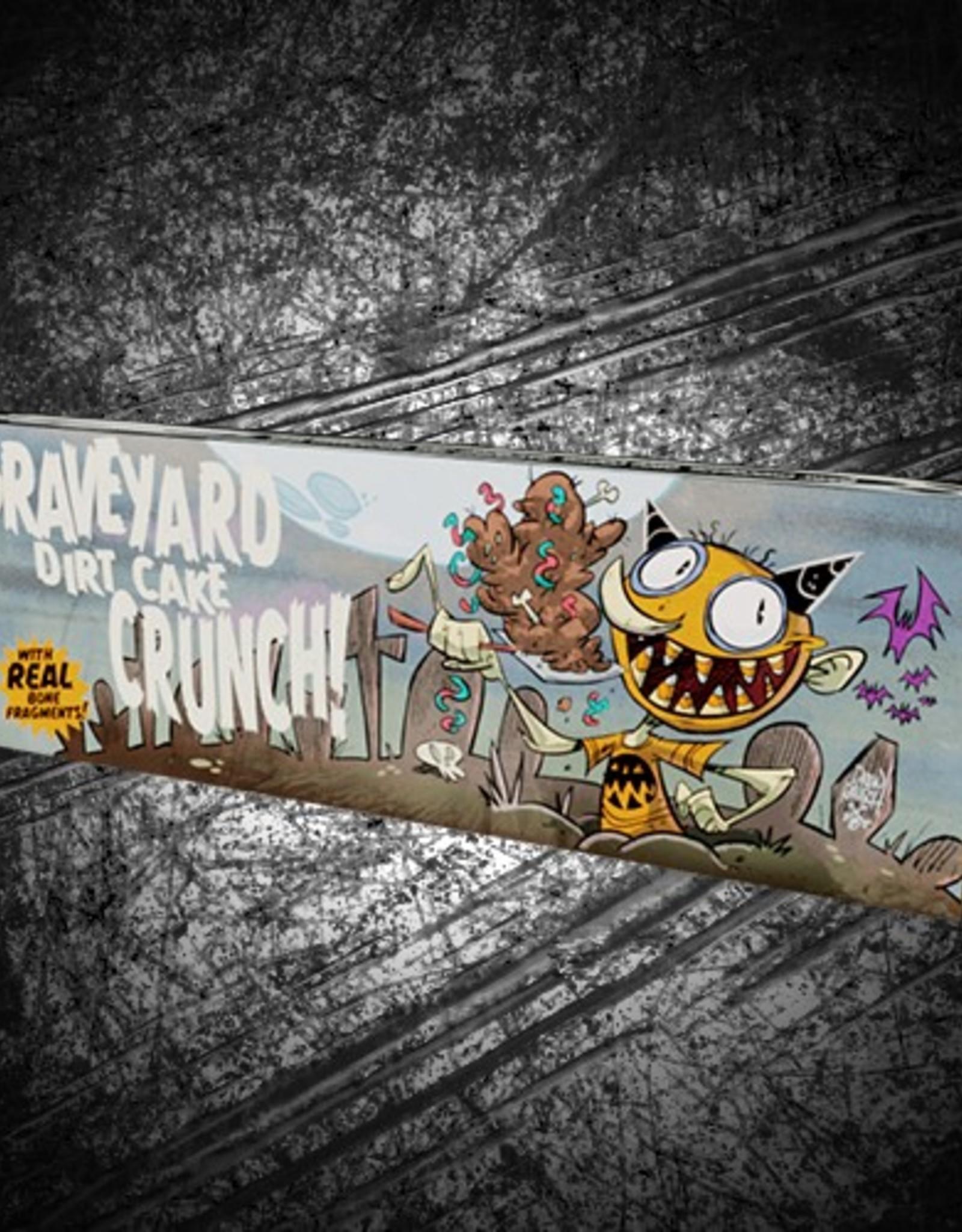 """Graveyard Dirt Cake Crunch"" bar by Drew Rausch"
