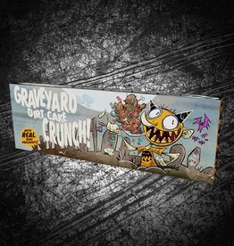 """Graveyard Dirt Cake Crunch"" bar by Drew Rausch"
