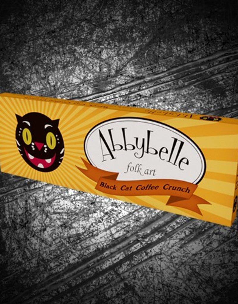 """Black Cat Coffee Crunch"" bar by Abby Belle"
