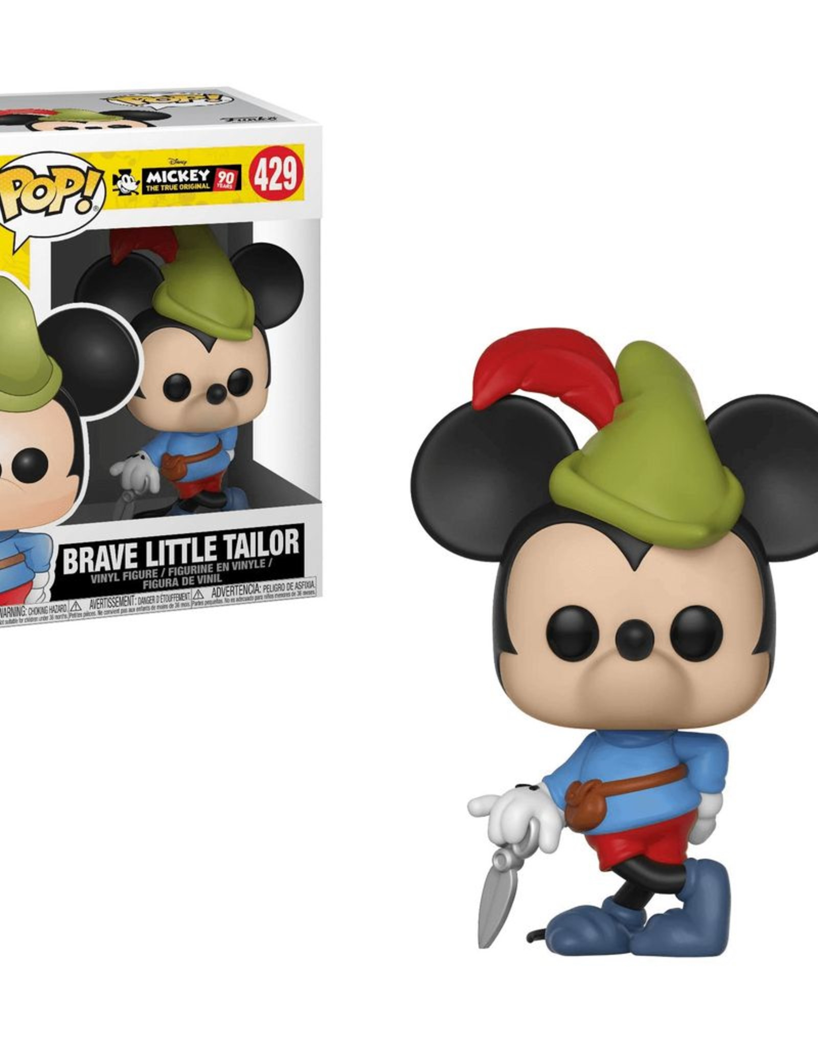 Funko Pop Vinyl - Mickey's 90th - Brave Little Tailor Mickey
