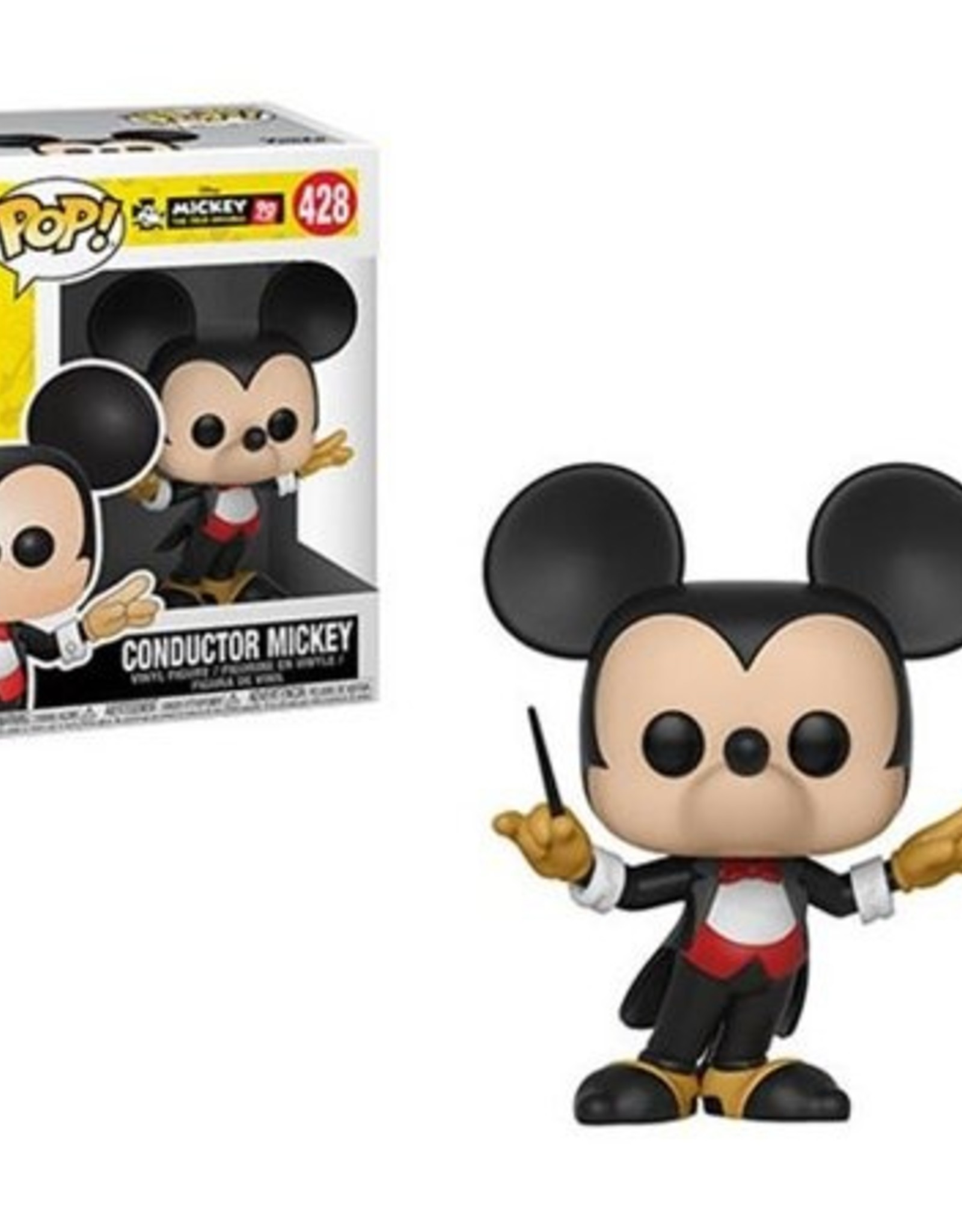 Funko Pop Vinyl - Mickey's 90th - Conductor Mickey