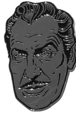 Vincent Price XL Silver Suave Pin
