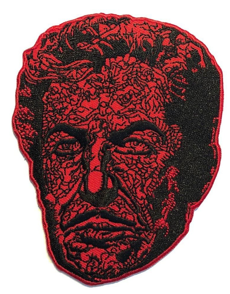kreepsville 666 Vincent Price Red Death Face Patch