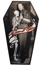 kreepsville 666 Vincent Price Skeleton Dance Coffin Patch