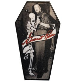 kreepsville 666 Vincent Price Skeleton Dance Coffin Patch