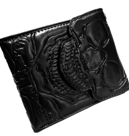 kreepsville 666 Skull Ribcage Bi-Fold Wallet