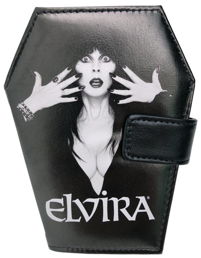 Elvira Coffin Wallet - Classic Logo