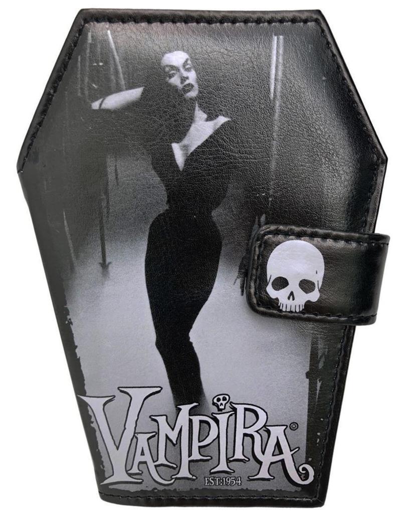 kreepsville 666 Vampira Mist Coffin Wallet