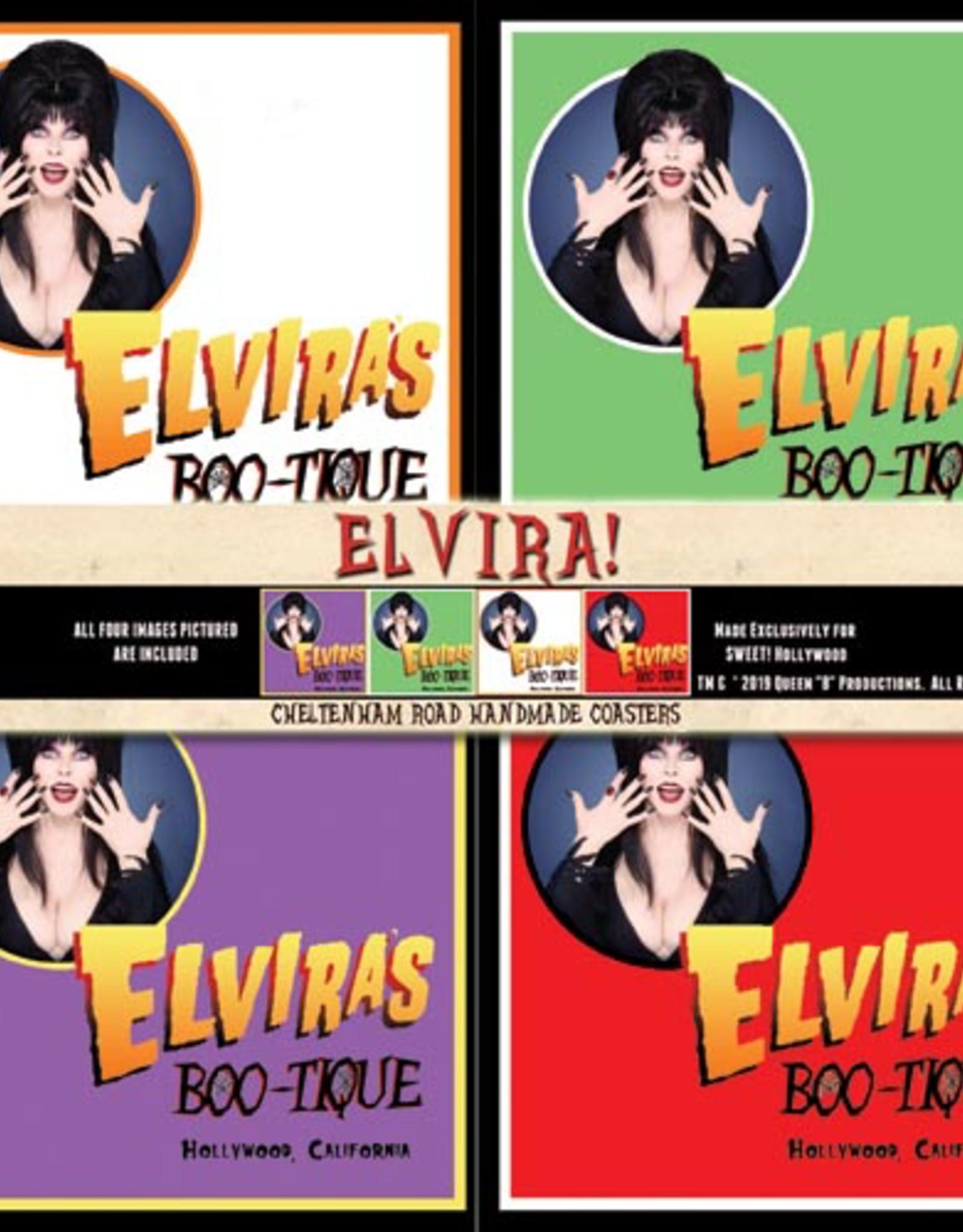 Elvira Boo-Tique Coaster 4 Pack