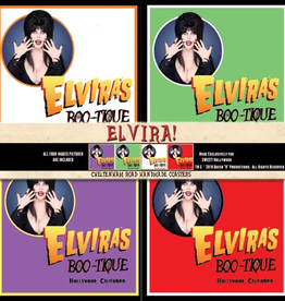 Elvira Elvira Boo-Tique Coaster 4 Pack