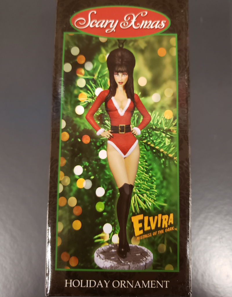 Elvira Holiday Ornament