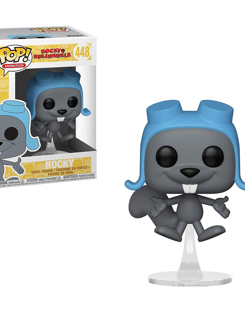 Funko Pop Vinyl - Rocky & Bullwinkle - Flying Rocky
