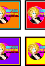 RuPaul Pop Up Shop Coaster 4 pack