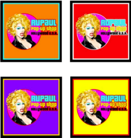 RuPaul Pop Up Shop Coaster 4 pack