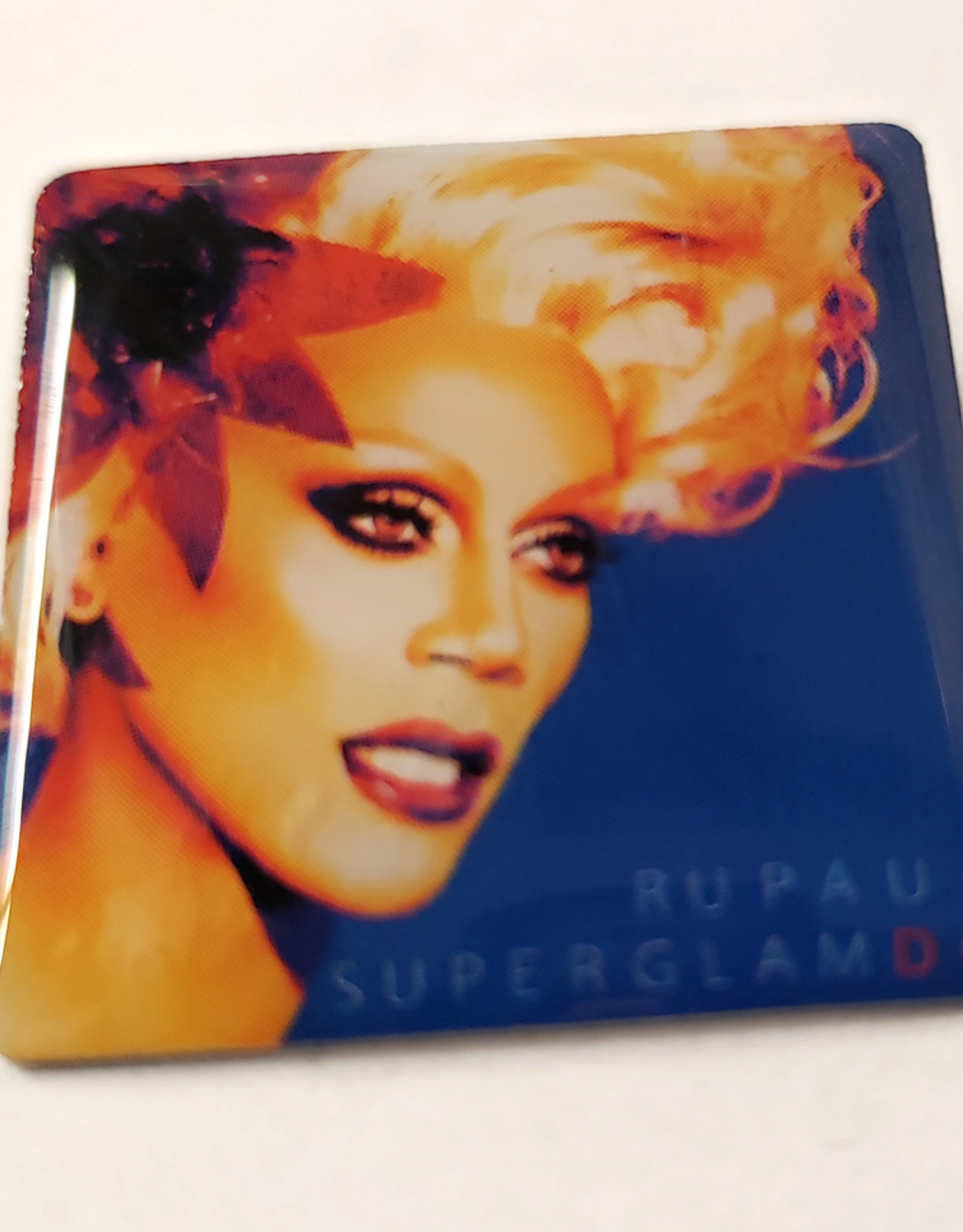 RuPaul CD Cover Pin- Superglam