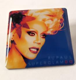 RuPaul CD Cover Pin- Superglam