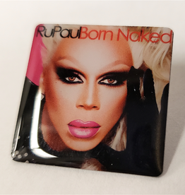 RuPaul CD Cover Pin - Born Naked