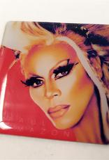 RuPaul CD Cover Pin - Glamazon