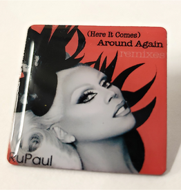 RuPaul CD Cover Pin - Around Again