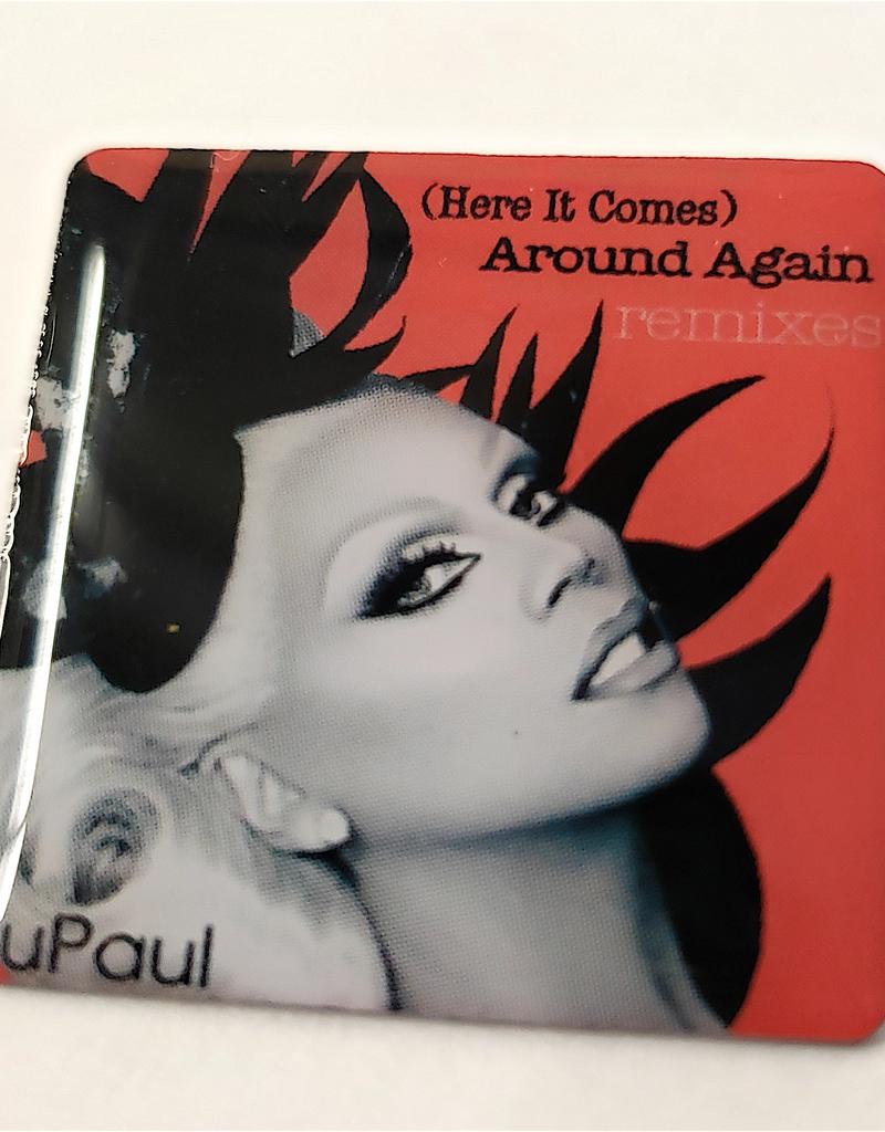 RuPaul CD Cover Pin - Around Again