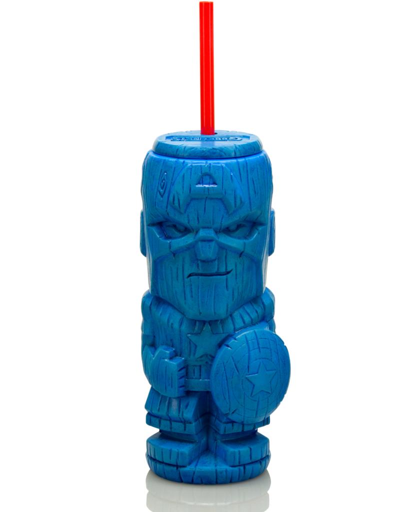 Geeki Tiki Geeki Tikis - Captain America Plastic tumbler