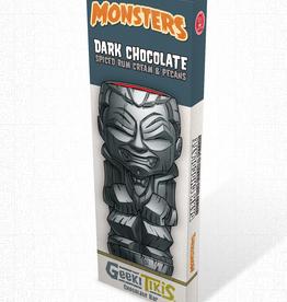 Monsters Geeki Tikis Monsters Dracula Dark Chocolate, Spiced Rum Cream, & Pecans
