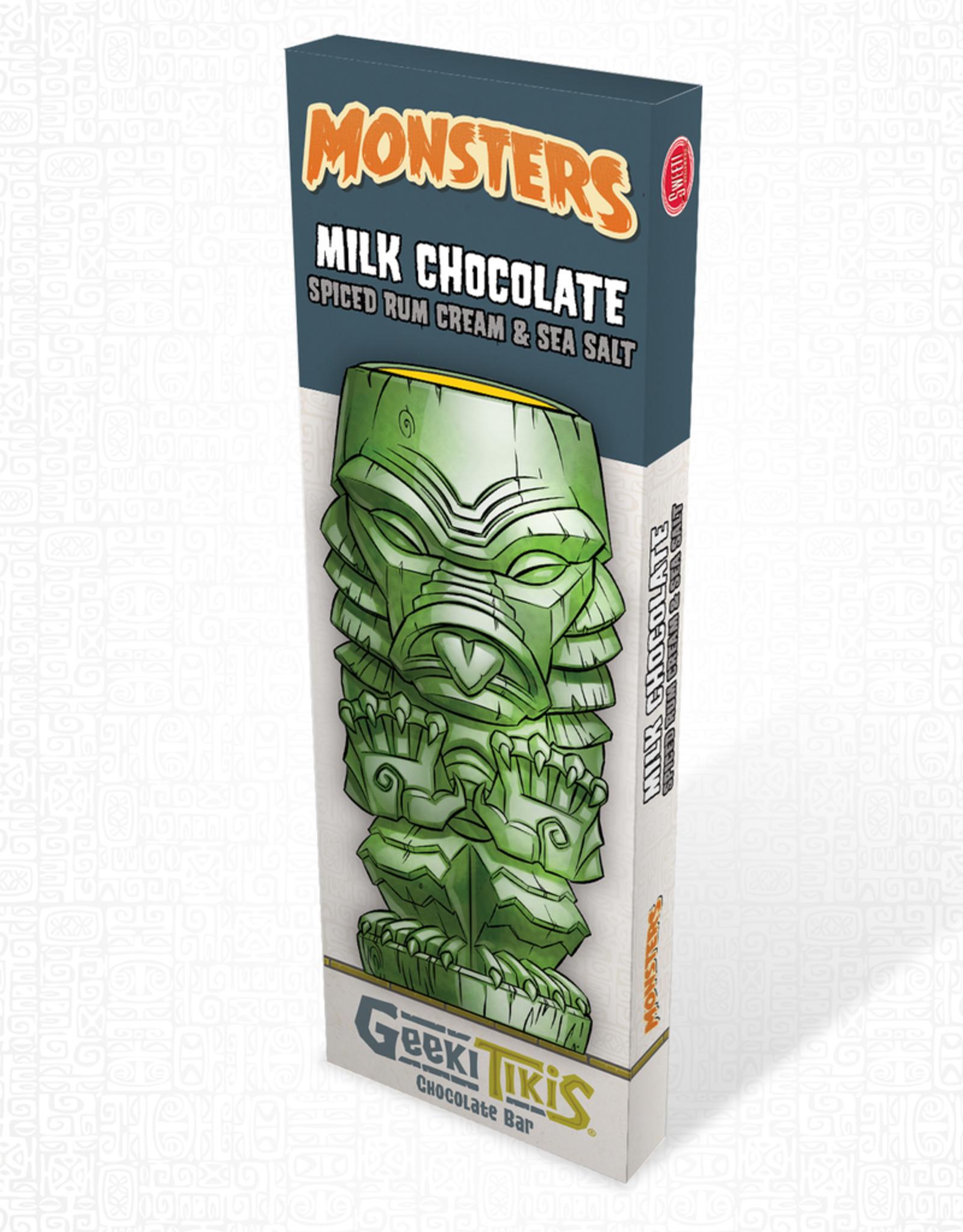 Monsters Geeki Tikis Monsters Creature from the Black Lagoon Milk Chocolate, Spiced Rum Cream, & Sea Salt