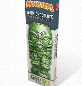 Geeki Tikis Monsters Creature from the Black Lagoon Milk Chocolate, Spiced Rum Cream, & Sea Salt