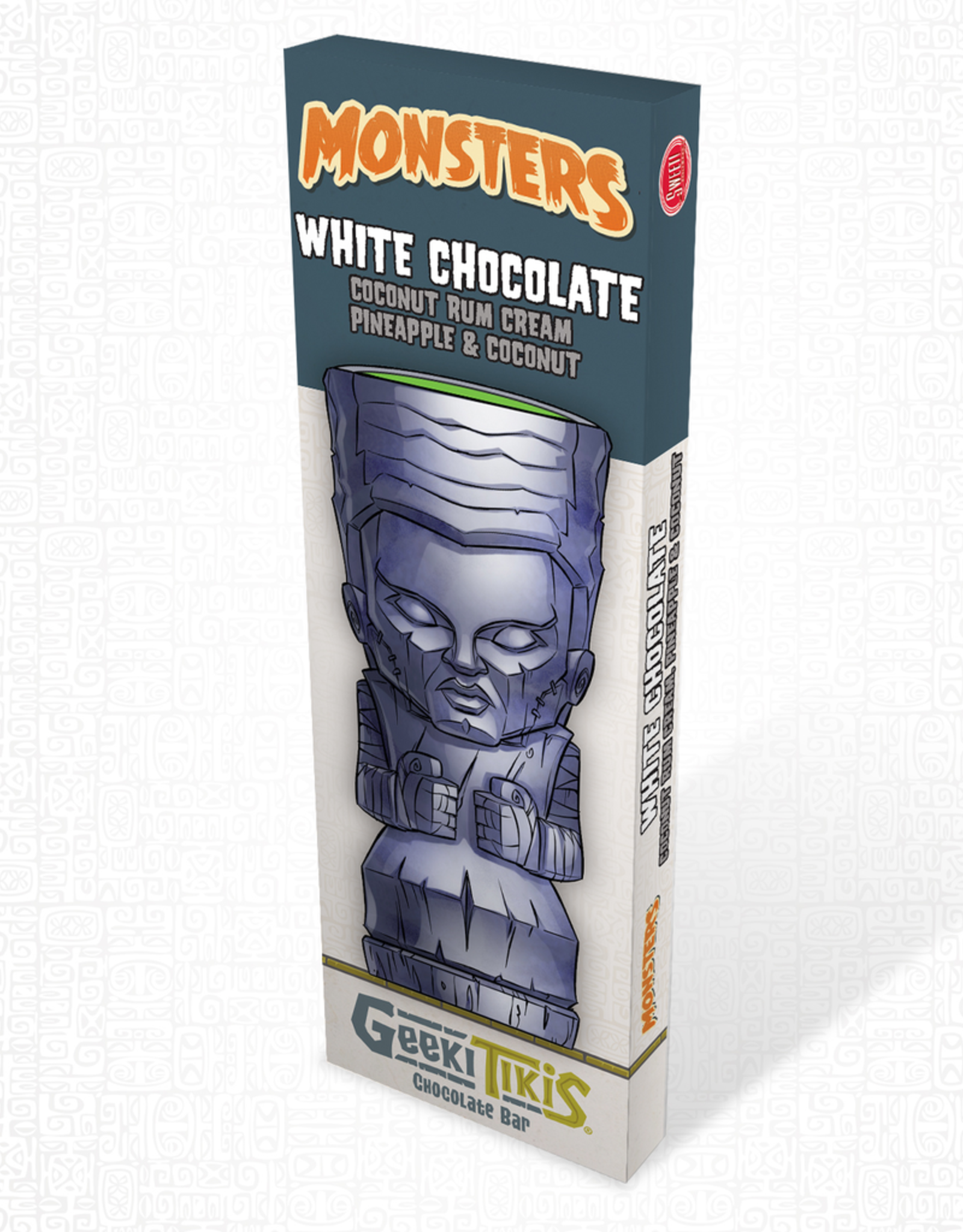 Monsters Geeki Tikis Monsters Bride of Frankenstein White Chocolate, Coconut Rum Cream, & Coconut