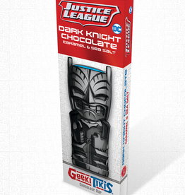 Geeki Tikis Justice League Dark Knight Chocolate Bar Dark Chocolate, Caramel, & Sea Salt