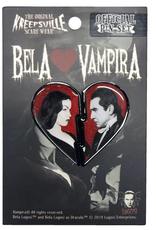 Bela Loves Vampira Broken Hearts Pin Set