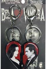 Bela Loves Vampira Broken Hearts Keychain