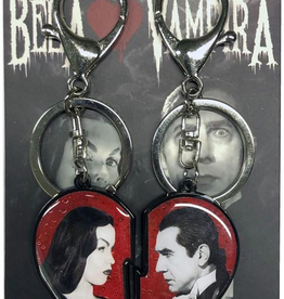 Bela Loves Vampira Broken Hearts Keychain