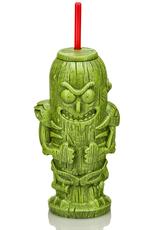 Geeki Tikis - Pickle Rick Plastic Tumbler